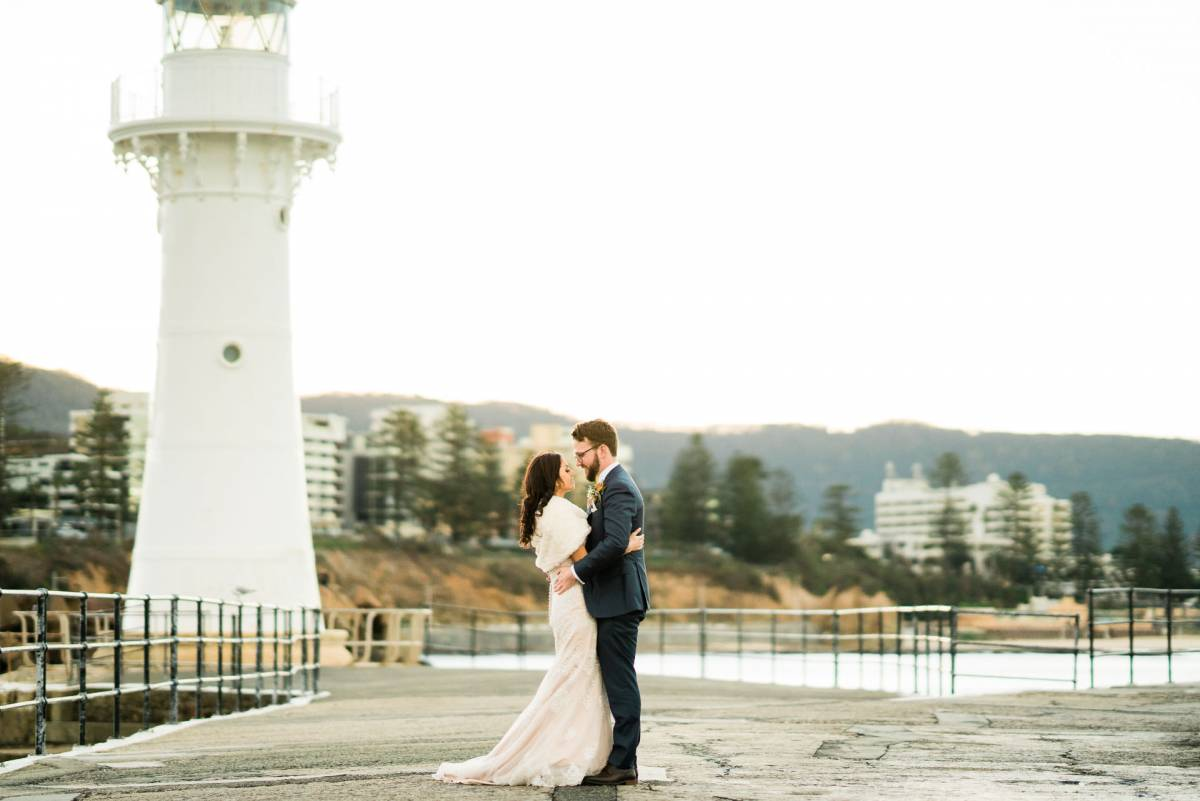 Bride and Groom Location Shoot - Fuzzy Pear Studio Sydney Wedding Photography