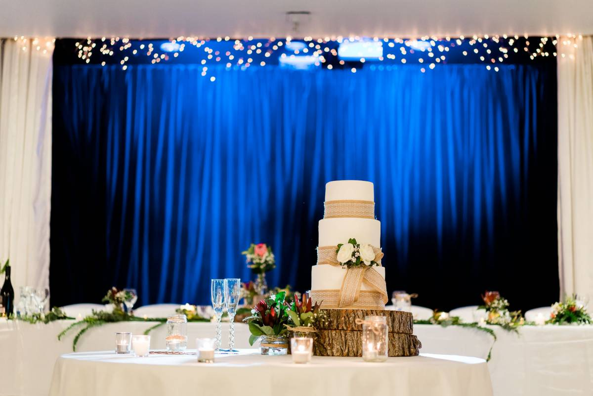 Three Tiered Wedding Cake - Fuzzy Pear Studio Sydney Wedding Photography