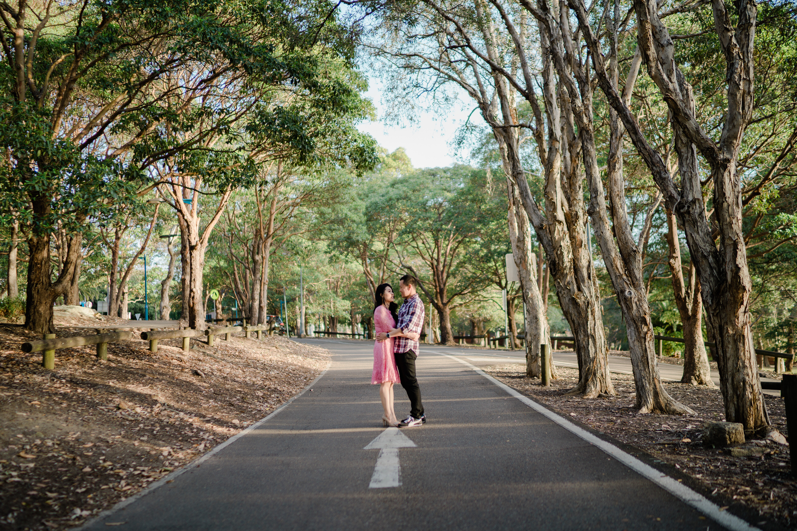 Stacy & Danny's Pre-Wedding Photos at Cabarita Park - Photos by Fuzzy Pear Studio Sydney Wedding Photographers